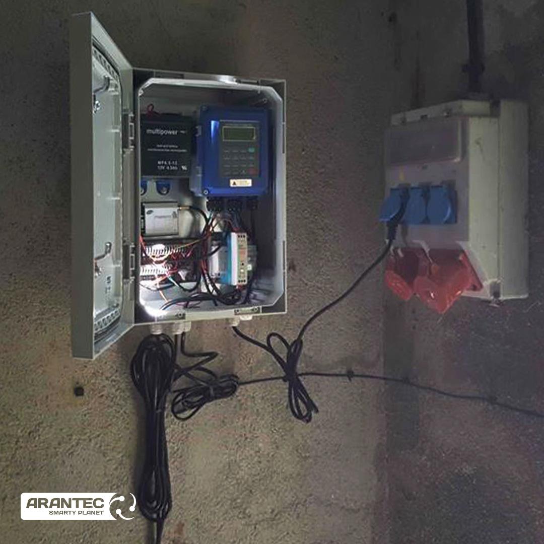 Smarty Water, un sistema de control del suministro de agua en Les